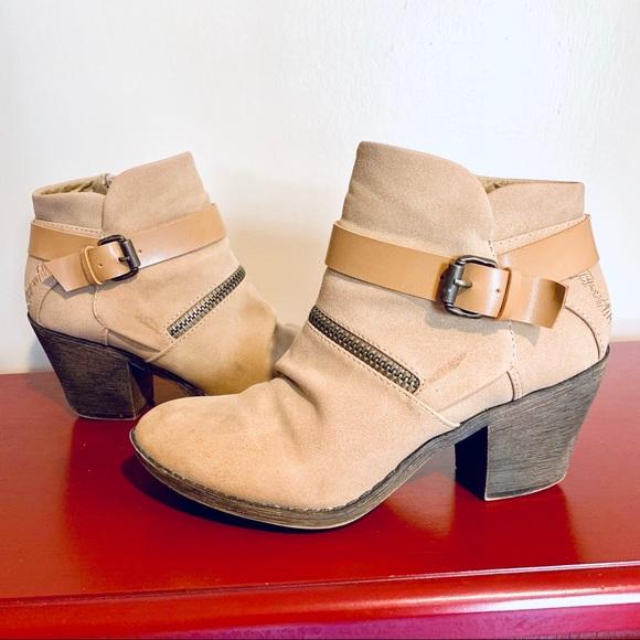 Blowfish Shoes - ‼️SOLD‼️BLOWFISH ADORABLE SUEDE WESTERN BOOTIES